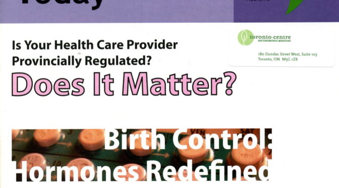 Birth Control: Hormones Redefined