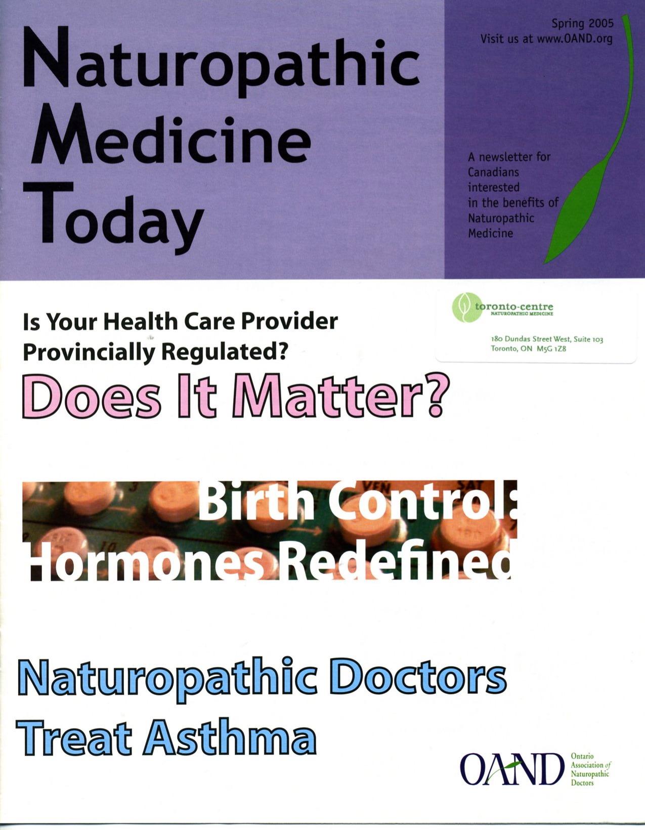 Toronto Naturopathic Doctor